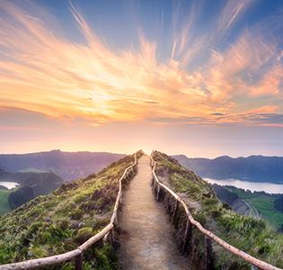 Beauty from Uphill Climb