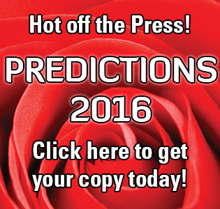 Predictions 2016 & Beyond! Get yours today!
